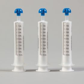 Comar  mL Only Oral Dispensers with Tip Caps, 10mL - Clear