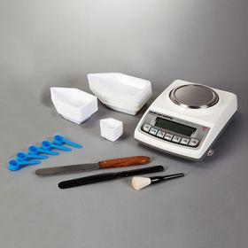 Weighing Kit w/HCL Class II Scale, 320g, Internal Calibration