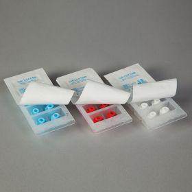 Sterile Luer Lock Syringe Caps - White