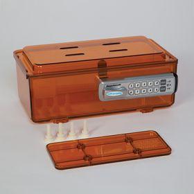 Amber Rugged Refrigerator Box, Keyless Entry Digital Lock