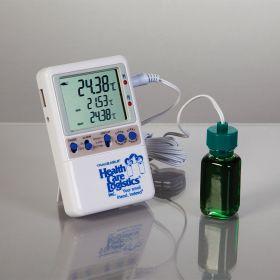 Excursion-Trac Datalogging Thermometer w/ probe bottle