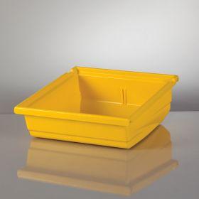 Universal Hanging Bin, 11x4.5x11.5 - Yellow