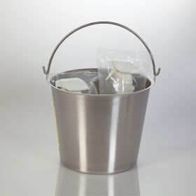 Stain Less Steel Pail, 13-Quart