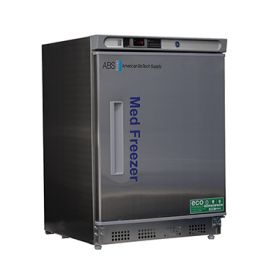 ABS Undercounter Stainless Steel Pharmacy/Vaccine Freezer, 4.2 cu. ft.,  F