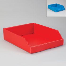 Corrugated Plastic Shelf Caddies - Red, 19826
