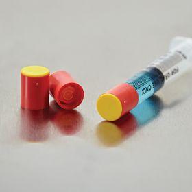 Tamper-Evident Tip Caps for BD Oral Dispensers