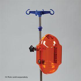 The Pod IV Lock Box w/ Key Lock, Amber