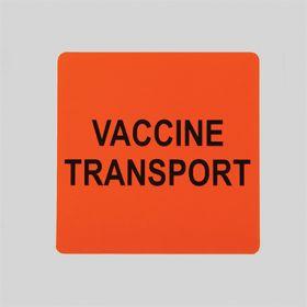 Vaccine Transport Label