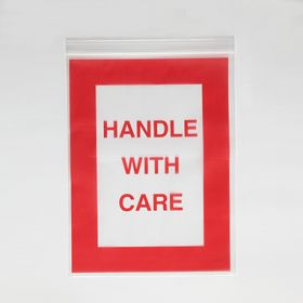 Handle With Care Bags, 9x12