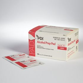 Sterile Alcohol Prep Pads, Individually Wrapped, 2.5 x 3, Case