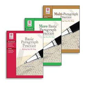 Paragraph Practice Series: COMBO (3 Books)