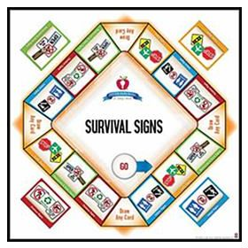 Life Skills Series for Today's World: Survival Signs Game