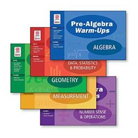 Pre-Algebra Warm-Ups: COMBO