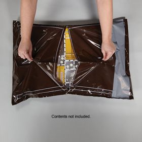 Amber Security Bags with Highlighted H Perforations for Full Size Crash Cart Boxes