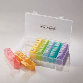 Seven Day Medication Organizer with Case