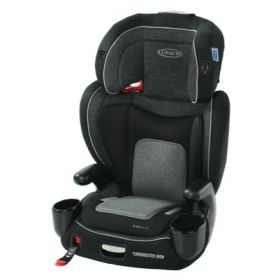 TurboBooster Grow Highback Booster featuring RightGuide Seat Belt Trainer