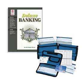 Deluxe Banking Set (Book & a Set of 10 Check Packets)