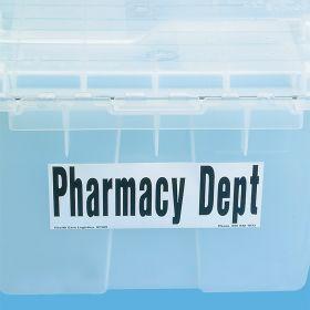 Pharmacy Dept Label