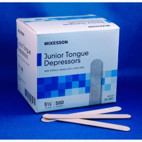 McKesson 24-201 Junior Tongue Depressors-500/Box