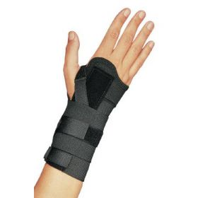 Wrist Splint PROCARE Elastic Left or Right Hand Black Small