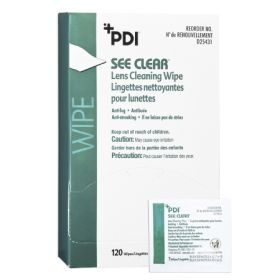 See Clear Lens Cleaning Wipe
