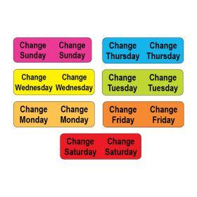 Tube Change Label Starter Kit