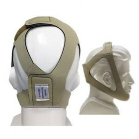 AG Industries Topaz Style Chinstrap, Adjustable, Tan