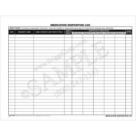 Medication Disposition Log