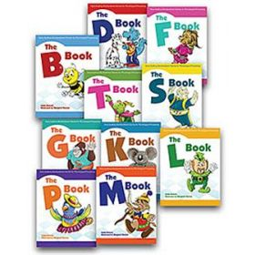Early Auditory Bombardment Stories for Phonological Processing: 10-Book Set