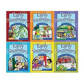Early Vocabulary Storybooks: 6-Book Set