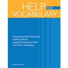 Handbook of Exercises for Language Processing HELP  for Vocabulary