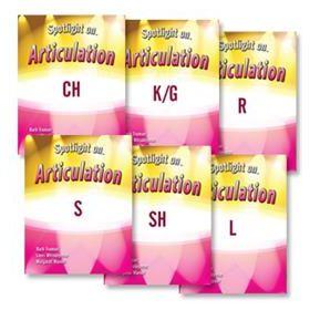 Spotlight on Articulation: 6-Book Set