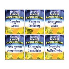 Spotlight on Reading Comprehension: 6-Book Set