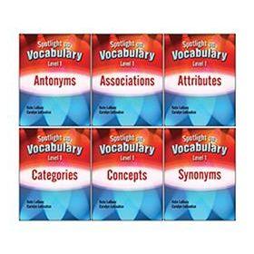 Spotlight on Vocabulary Level 1: 6-Book Set