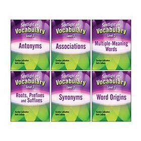 Spotlight on Vocabulary Level 2: 6-Book Set