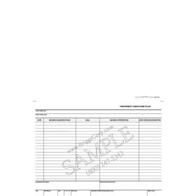 Treatment Card / Care Plan Form