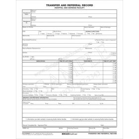 Transfer and Referral Record Form