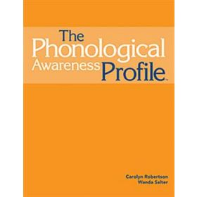 The Phonological Awareness Profile