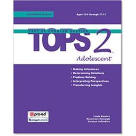 Test of Problem Solving 2: Adolescent (TOPS-2:A)