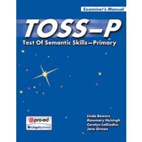 TOSS-P: Test Of Semantic Skills Primary