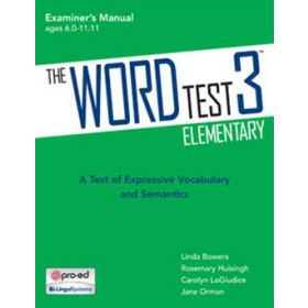 The WORD Test 3 Elementary