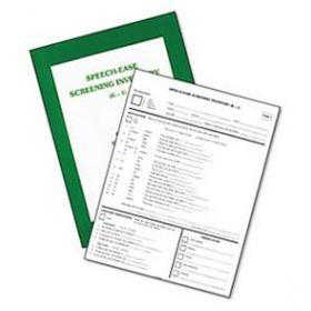 Speech-Ease Screening Inventory (K-1)