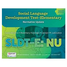 Social Language Development Test Elementary: Normative Update (SLDT-E: NU)