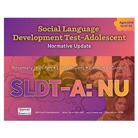 Social Language Development Test Adolescent: Normative Update (SLDT-A: NU)