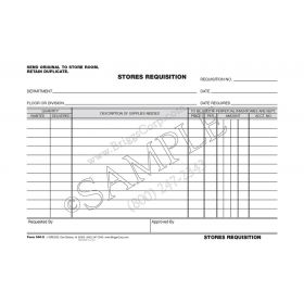 Stores Requisition Form