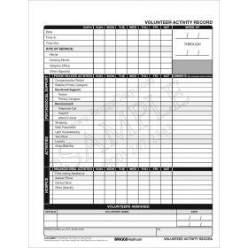 Volunteer Activity Record Form