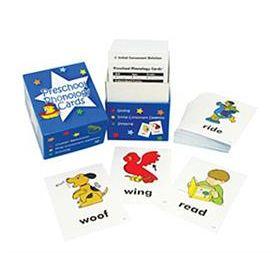 Preschool Phonology Cards