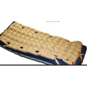 Mattress Overlay Waffle Extended Care Plus 76 L X 34 W X 3 H Inch