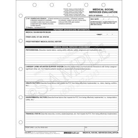 Medical Social Services Evaluation Form