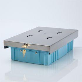 X-Large Refrigerator Storage Box, Single-Lock